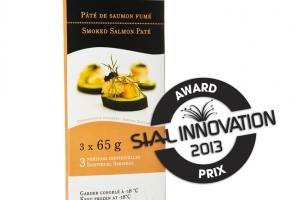 Pâté de saumon fumé 195g : Prix Sial Innovation 2013