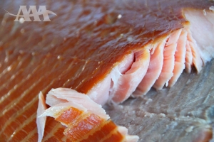 Saumon de l'Atlantique fumé à chaud (A Acadien Atlantic)