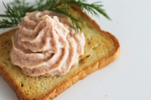 Smoked Atlantic salmon Pâté (A Acadien Atlantic)