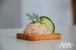 Pâté de saumon de l'Atlantique fumé (A Acadien Atlantic)