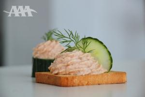 Smoked Atlantic salmon Pâté (A Acadien Atlantic)