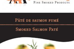 Pâté de Saumon de l'Atlantique Fumé A Acadien Atlantic