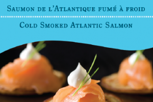 Saumon Fumé de l'Atlantique A Acadien Atlantic