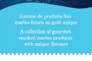 Banner for A Acadian Atlantic Smoked Atlantic Salmon products, 2012